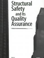 Structural Safety and its Quality Assurence
